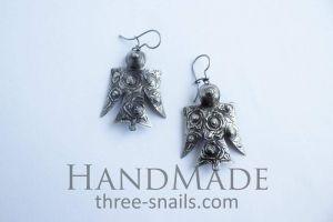 """Cool earrings """"Bird"""""""