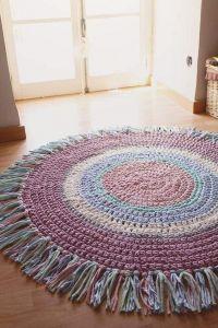 Cotton girls room rug