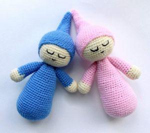 "Crochet doll ""Sleepy"""