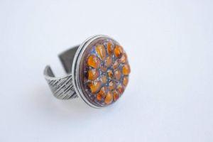 "Custom rings ""Sun pieces"""