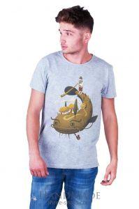 Custom t-shirt design. Unique «Big fish» print