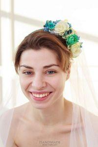 "Cute headbands for women ""Spring bunch of flowers"""