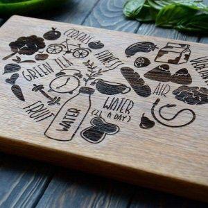 Decorative cutting board
