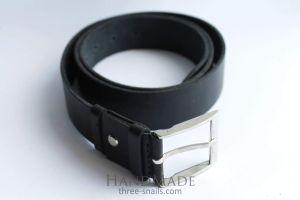 """Designer belts for men """"Black obelisk"""""""