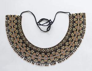 "Designer necklaces ""Golden drops"""