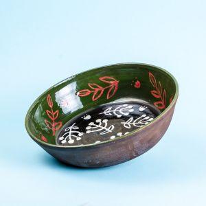 Ceramic deep plate