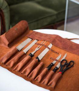Kitchen knife pouch