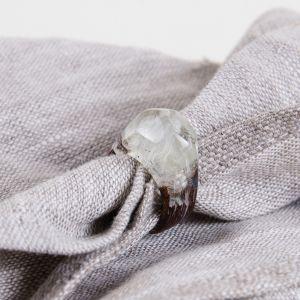 Oakwood resin ring