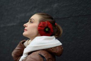 """Ear muffs for winter """"Poppy"""""""