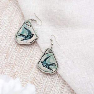 """Earrings for women""""Birds"""""""