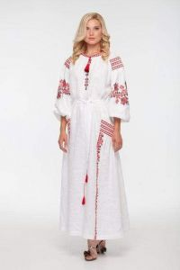 """Embroidered dress """"Blooming garden"""""""