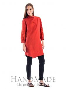 """Embroidered tunic dress """"Style"""""""