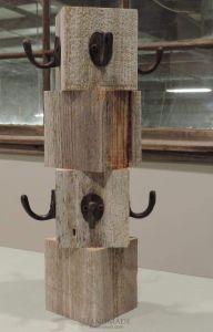Farmhouse Reclaimed Wood Mug Tree