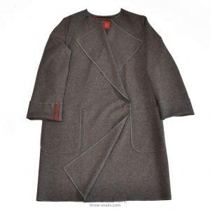 "Felted wool coat ""City charm"""