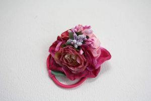 """Flower girl hair accessories. Hair tie """"Pink dreams"""""""