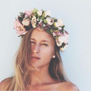"Women's headbands ""Romantic bouquet"""