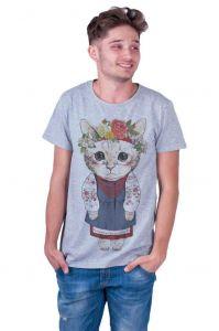 Grey Man T-shirt «Kitten»