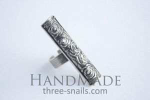 """Handcrafted rings """"Roses"""""""
