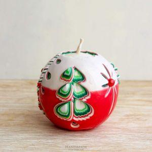 """Handmade Christmas candle """"Christmas tree"""""""