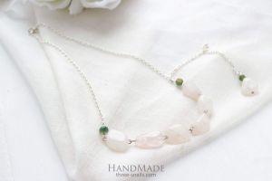 "Handmade jewelry necklace ""Faith"""