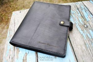 """Handmade leather accessory. Personal Organizer """"Busy"""""""