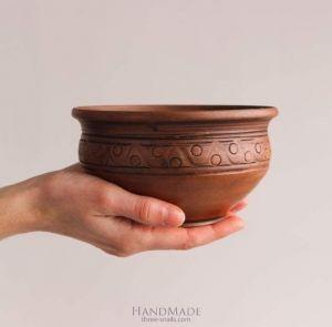 "Handmade pottery bowls  ""Magic Wave"""