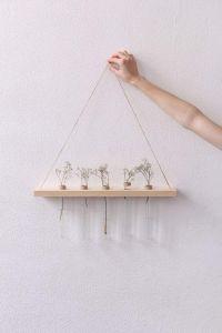 "Hanging plant shelf ""Hanging flower display"""