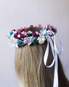 """Headbands for women """"Delicate combination"""""""