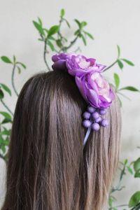 "Headbands for women ""Lilac tenderness"""