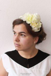 "Headbands for women ""White composition"""