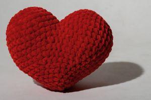 Small crochet heart