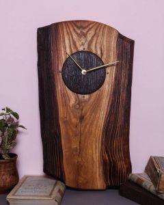 Textured wall clock
