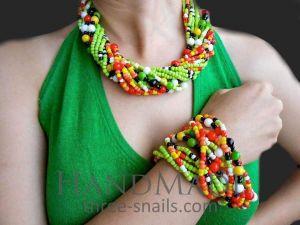"Jewelry Set ""Fruit Mix"""