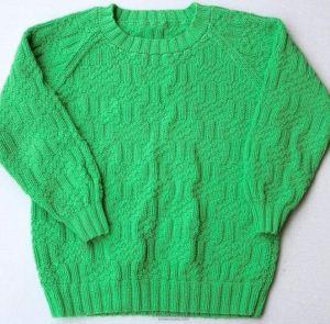 Kids green sweater
