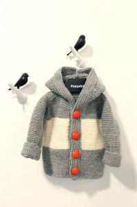 Kids knitted cardigan