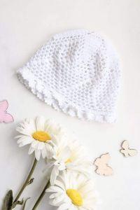 """Knitting pattern baby hat """"Lace pattern"""""""