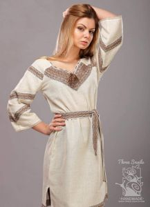 """Lace embroidered dress """"Sienna"""""""