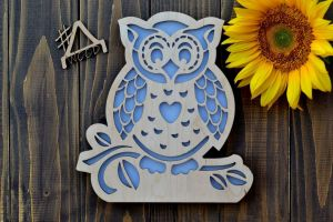 """Lamp for Kids""""Wise owl"""""""