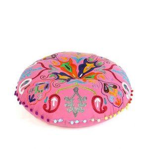 Large floor cushion pink