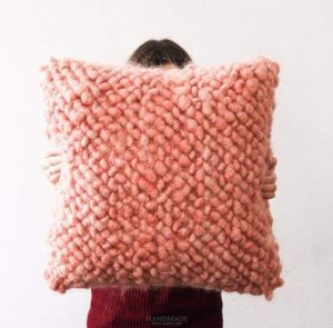 Large floor pillow for sitting