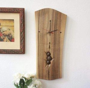 "Large wood wall clock ""Modern style"""