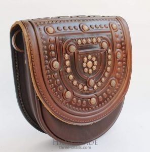 """Leather bags for women """"Browny"""""""