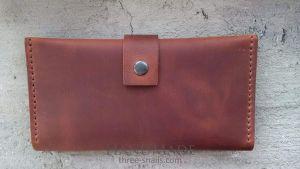 "Leather purse ""Adonis"""