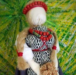"Lucky talisman motanka doll ""Lady luck"""