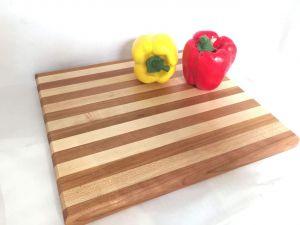Maple And Cherry Grain Cutting Board