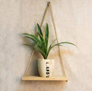 Medium hanging shelf natural