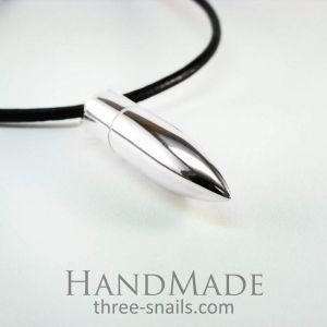 Mens bullet necklace «Bullet»