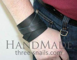 "Mens cuff bracelets ""Force"""