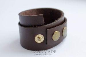 """Mens leather bracelet """"Warrior"""""""