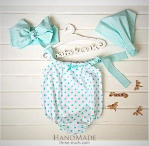 Mint summer set for baby girls